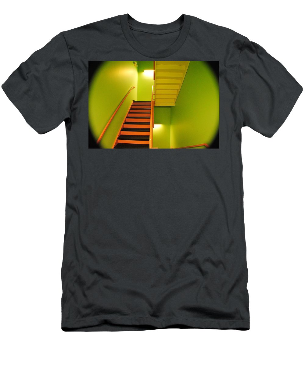 Tunnel Men's T-Shirt (Athletic Fit) featuring the photograph Tunnel Vision by Frozen in Time Fine Art Photography