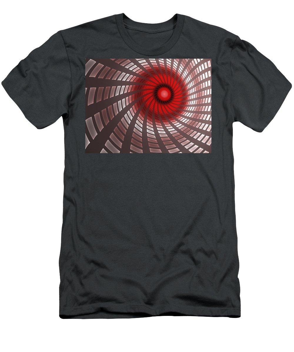 Digital Art Men's T-Shirt (Athletic Fit) featuring the digital art Turbine 2 by Gabiw Art