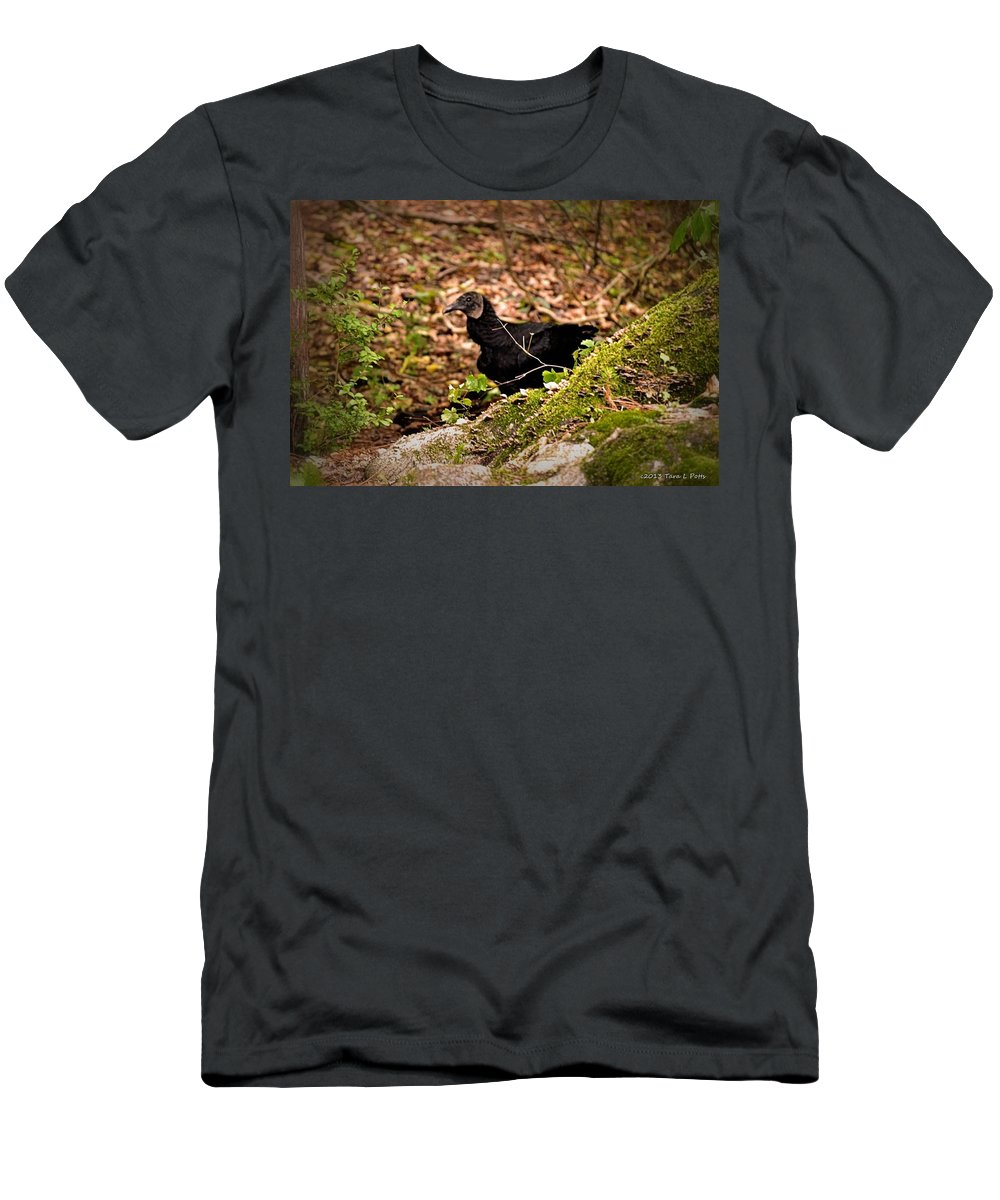 Turkey Men's T-Shirt (Athletic Fit) featuring the photograph Turkey Vulture by Tara Potts