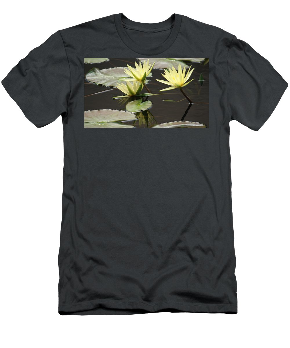 Yellow Men's T-Shirt (Athletic Fit) featuring the photograph Unity Of Spirit by Rob Luzier
