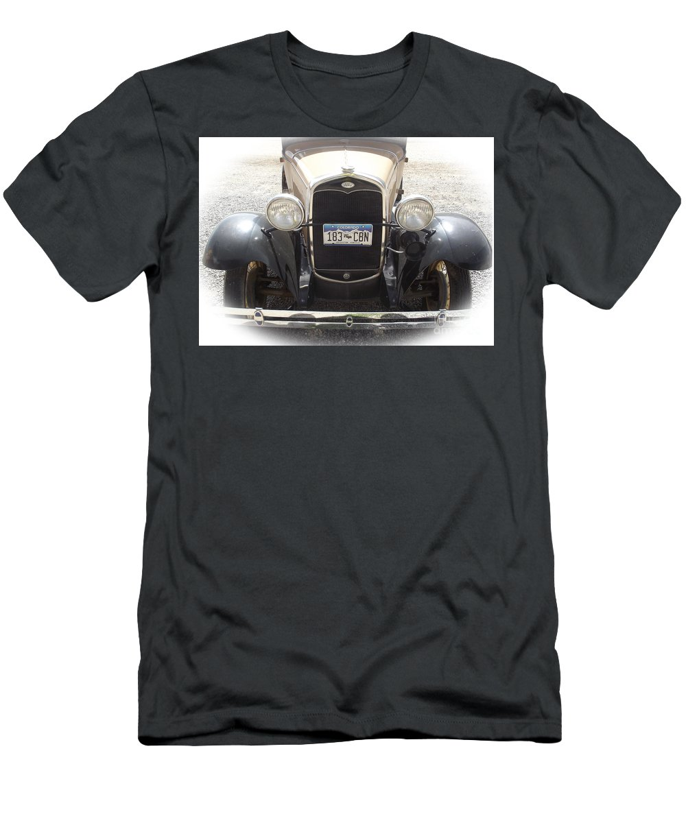 Ford Men's T-Shirt (Athletic Fit) featuring the photograph Vintage Ford by Jennifer Lavigne