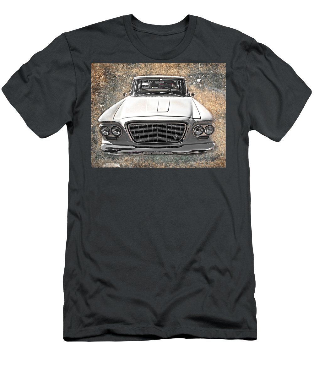 Vintage Men's T-Shirt (Athletic Fit) featuring the photograph Vintage Vehicle by Judy Hall-Folde