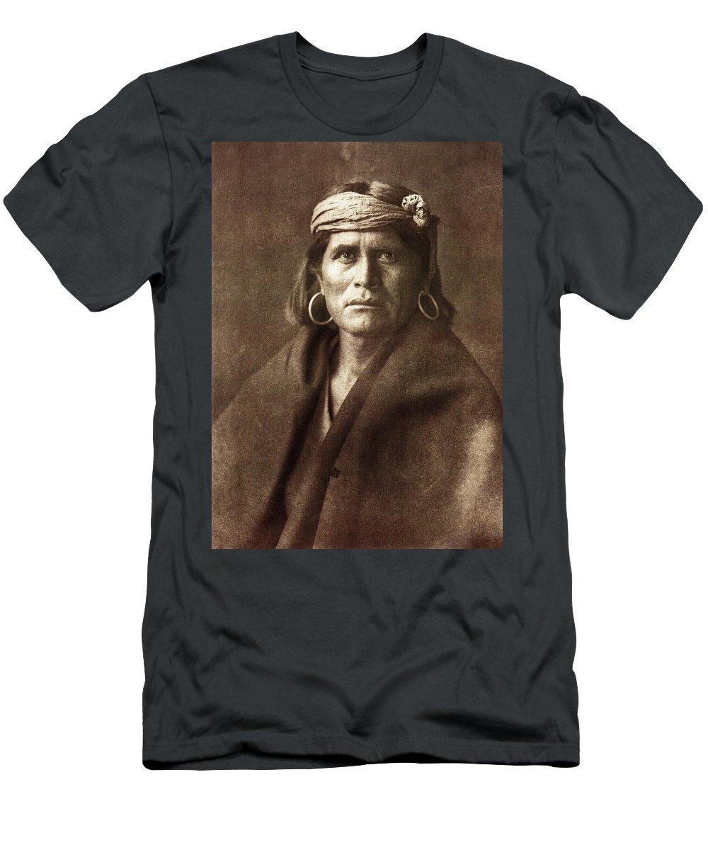 Warze Men's T-Shirt (Athletic Fit) featuring the digital art Warze by Edward Curtis