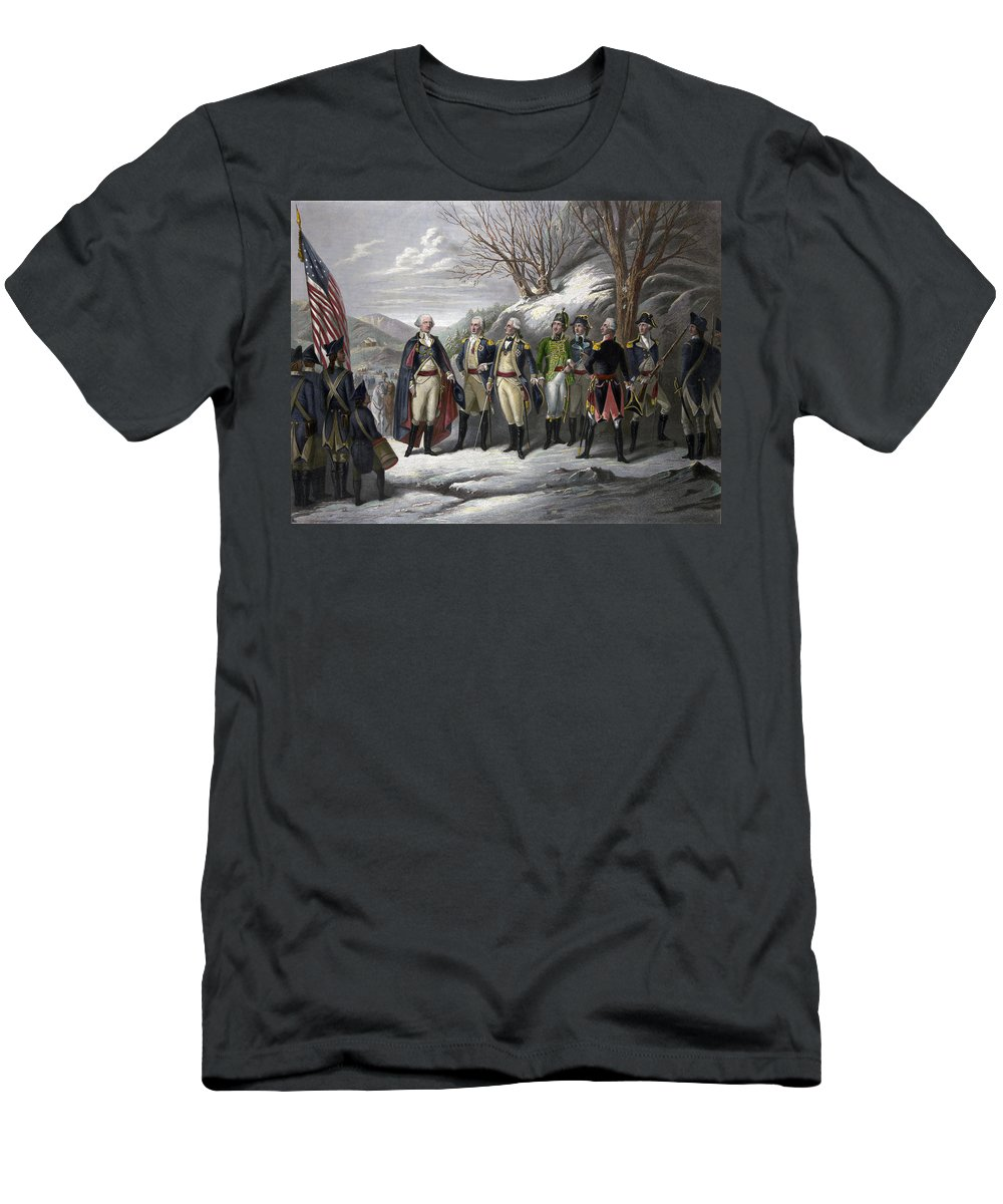 1780s Men's T-Shirt (Athletic Fit) featuring the photograph Washington & Generals by Granger