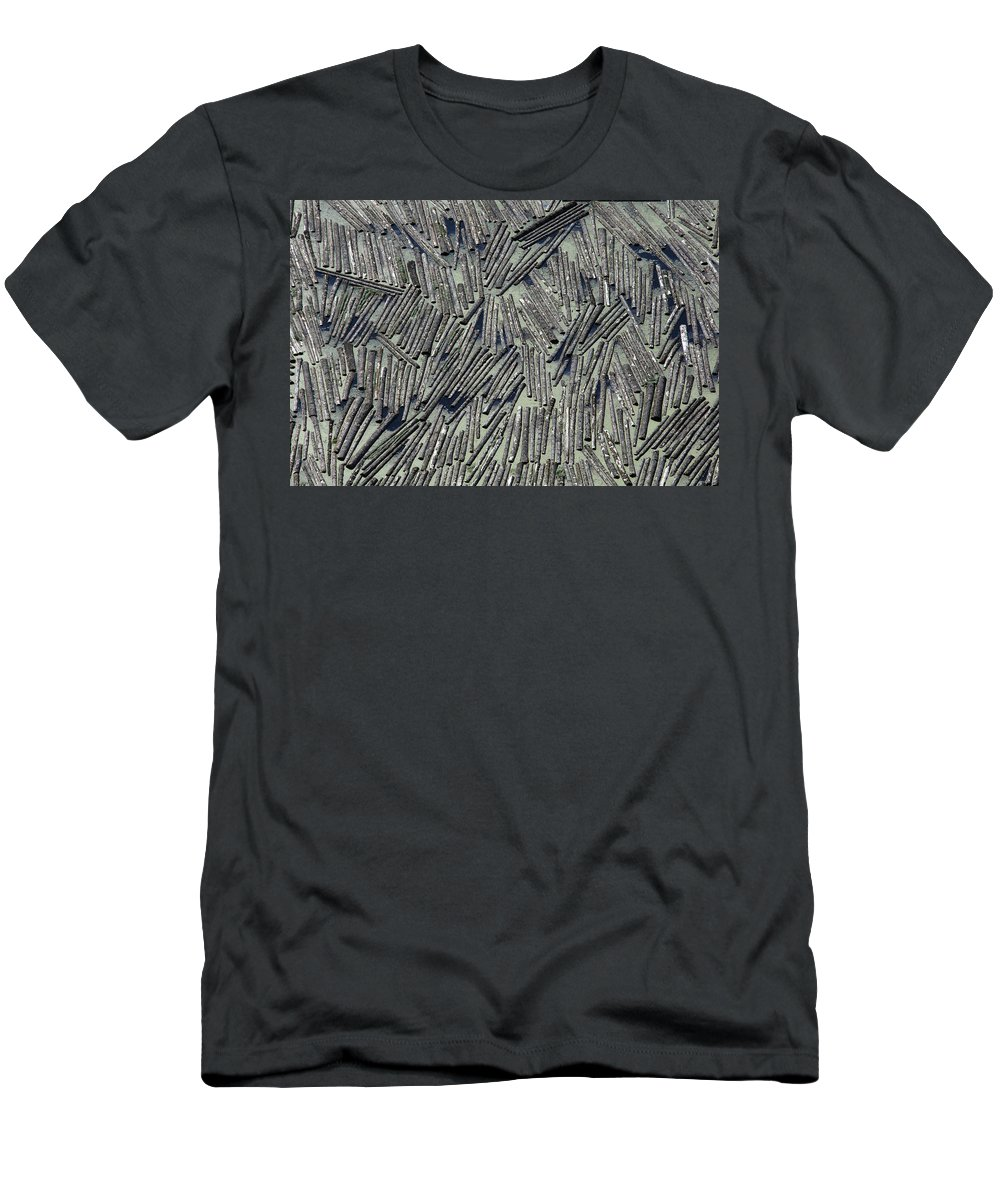 Water Men's T-Shirt (Athletic Fit) featuring the photograph Water Logged by John Ferrante