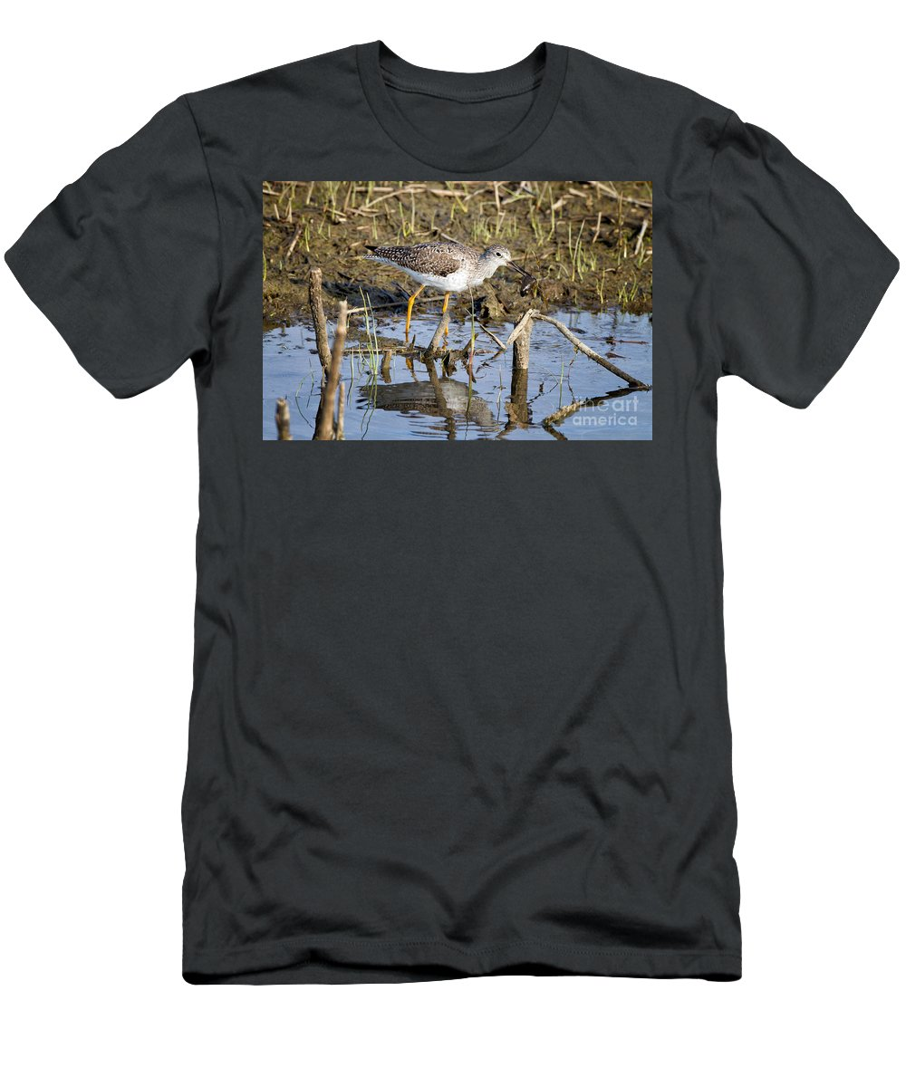 Lesser Men's T-Shirt (Athletic Fit) featuring the photograph What A Meal by Ronald Lutz