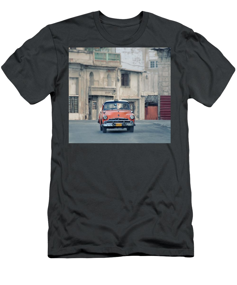 1950s Men's T-Shirt (Athletic Fit) featuring the photograph Where The Streets Do Have Names.. by A Rey
