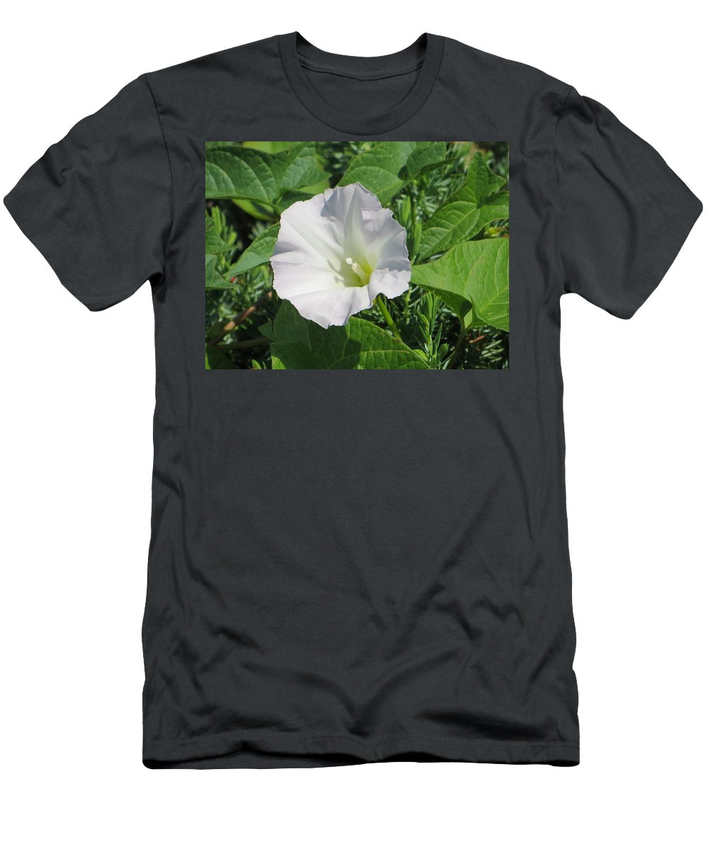 White Beauty Men's T-Shirt (Athletic Fit) featuring the photograph White Candour by Sonali Gangane