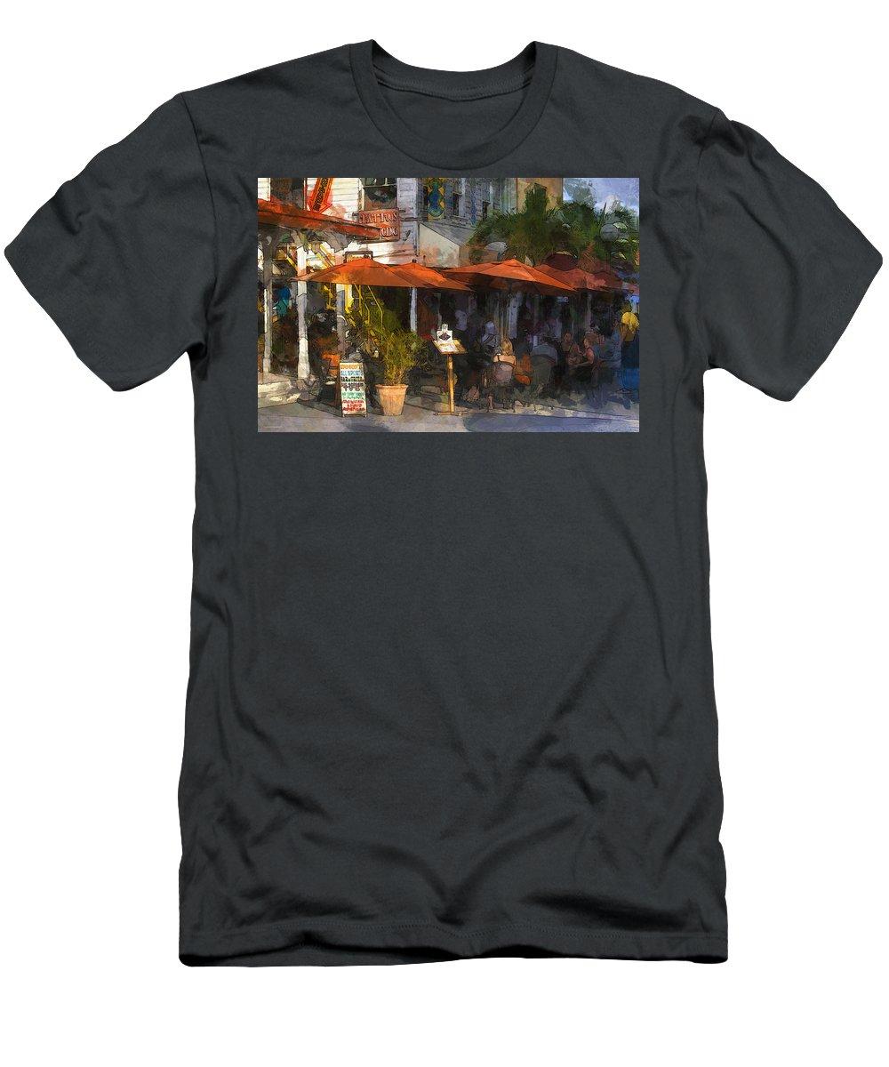 Ron Jones Men's T-Shirt (Athletic Fit) featuring the digital art Woody's by Ron Jones