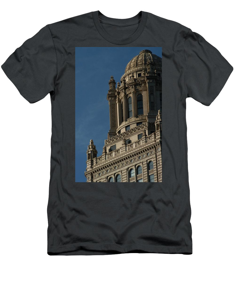 Chicago Men's T-Shirt (Athletic Fit) featuring the photograph Your Guess by Joseph Yarbrough
