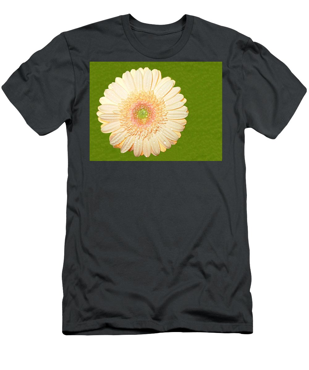Gerbera Photographs Men's T-Shirt (Athletic Fit) featuring the photograph 0841a1 by Kimberlie Gerner