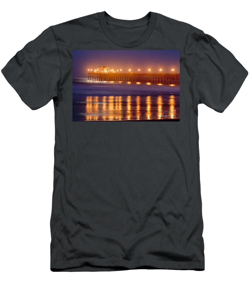 Oceanside Men's T-Shirt (Athletic Fit) featuring the photograph 8031 by Daniel Knighton