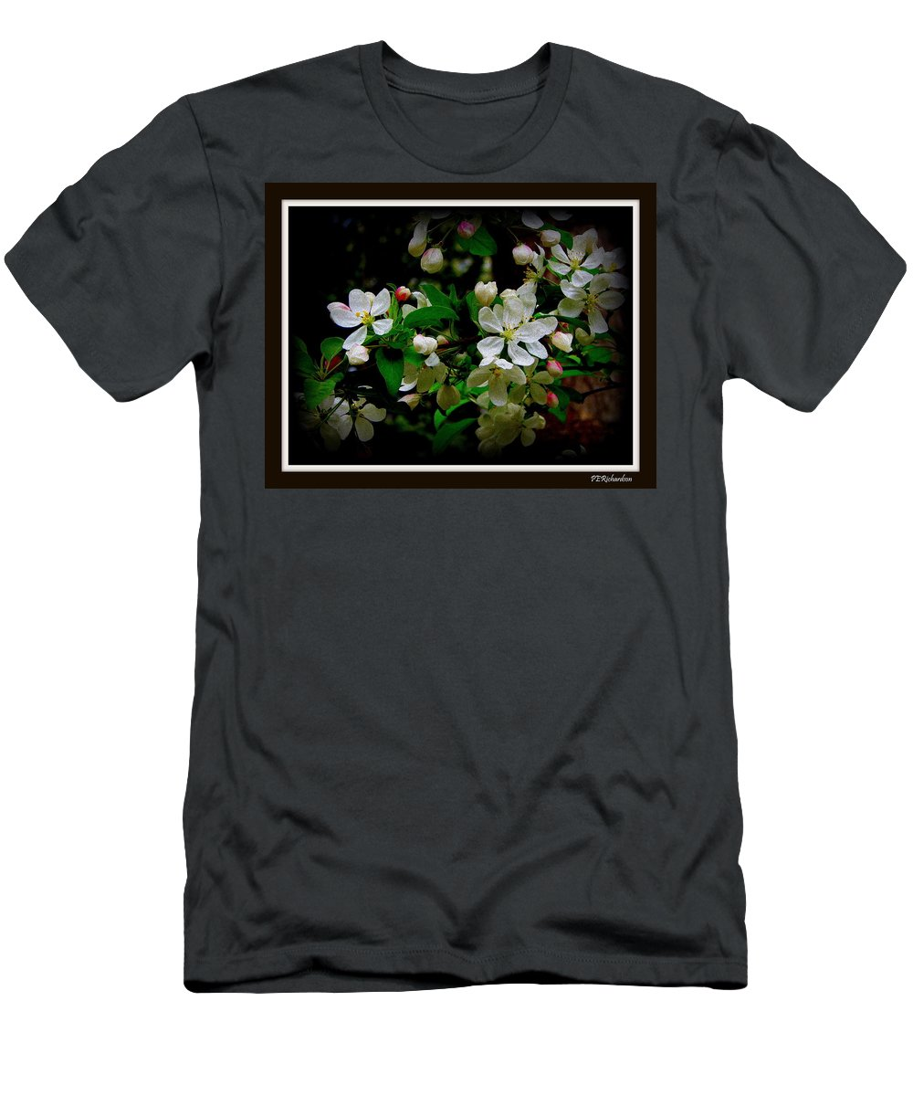 Crabby Men's T-Shirt (Athletic Fit) featuring the photograph Crabby by Priscilla Richardson