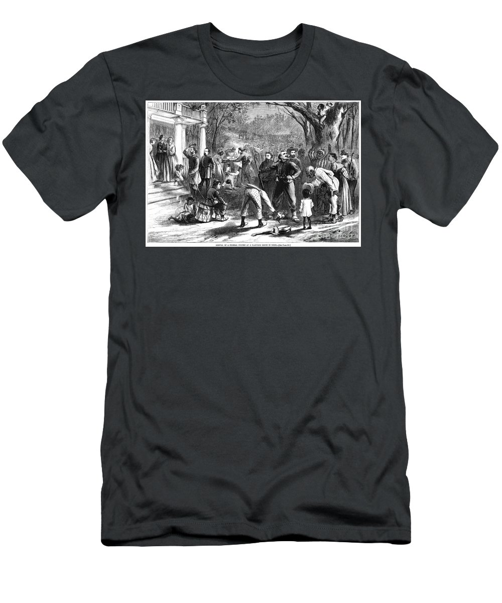 1863 T-Shirt featuring the photograph Emancipation, 1863 by Granger
