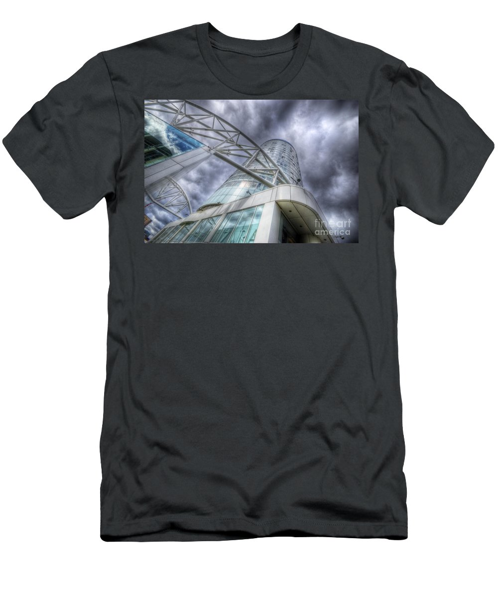 Art Men's T-Shirt (Athletic Fit) featuring the photograph Sky Is The Limit 3.0 by Yhun Suarez