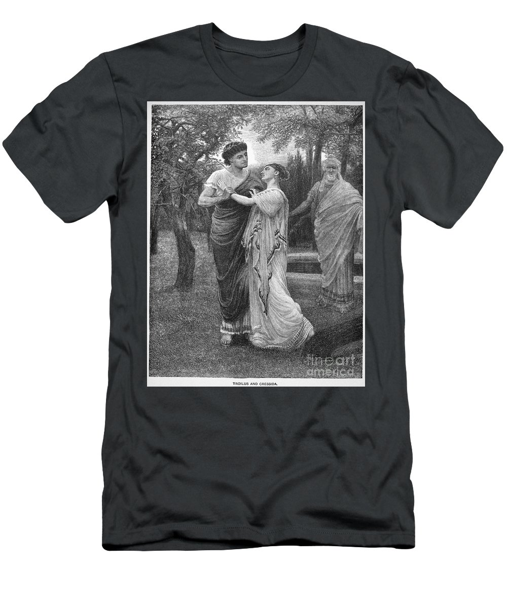 16th Century Men's T-Shirt (Athletic Fit) featuring the photograph Troilus And Cressida by Granger