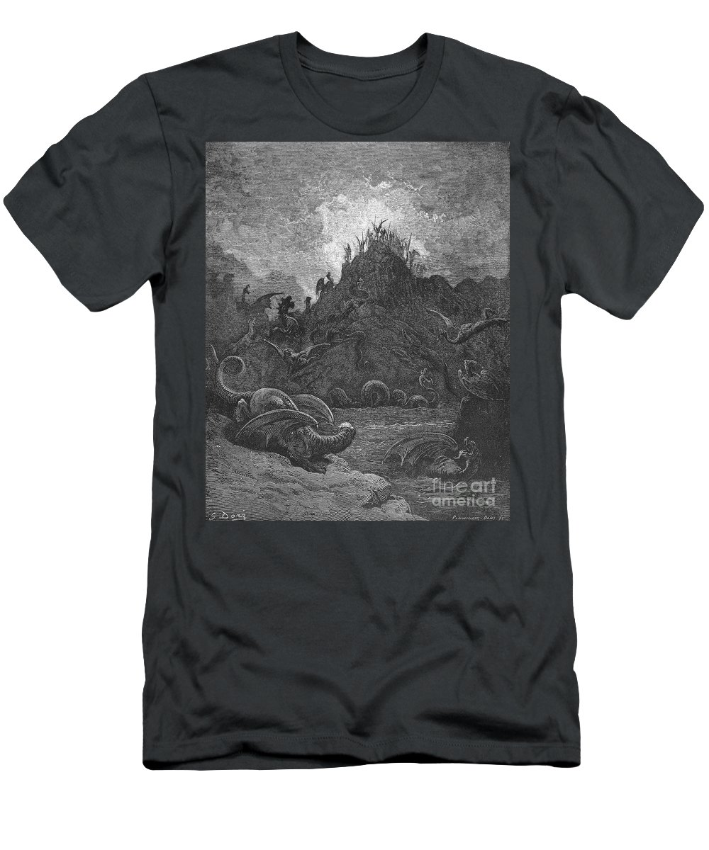 Book Men's T-Shirt (Athletic Fit) featuring the photograph Milton: Paradise Lost by Granger