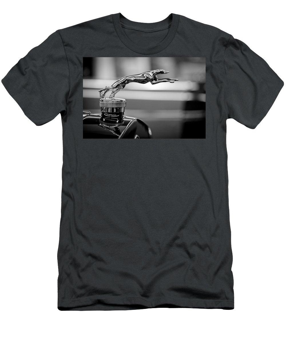 1925 Lincoln Town Car Hood Ornament T Shirt For Sale By Sebastian Musial
