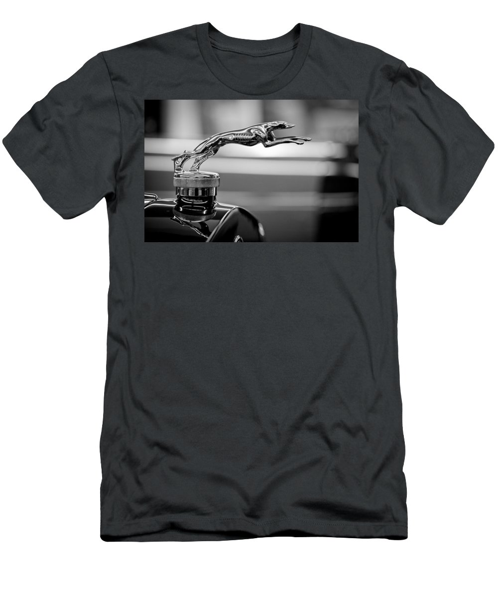 1925 Lincoln Town Car Hood Ornament T Shirt For Sale By Sebastian Musial