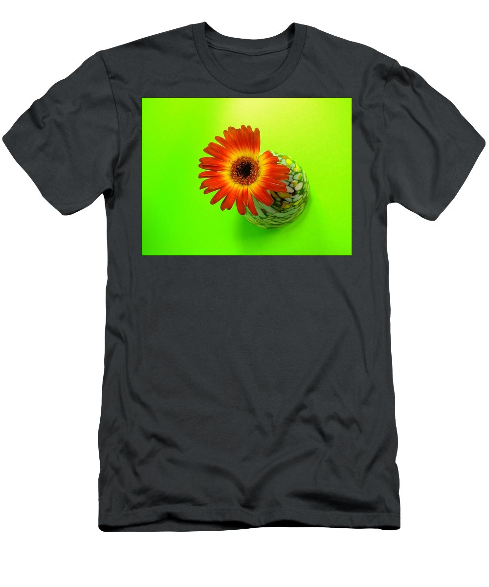 Gerbera Photographs Men's T-Shirt (Athletic Fit) featuring the photograph 2327c1 by Kimberlie Gerner
