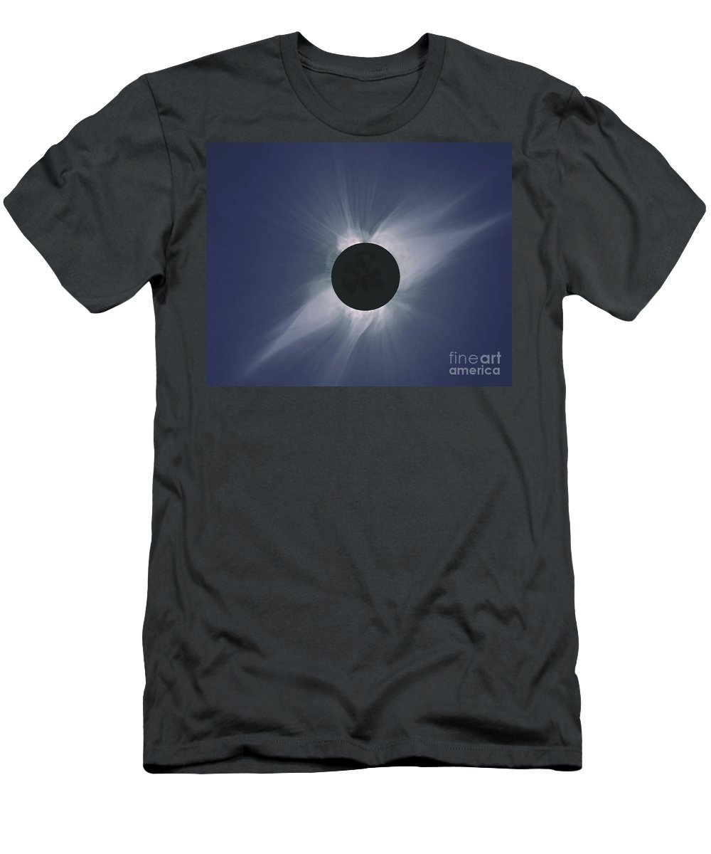 Solar Eclipse T-Shirt featuring the photograph Solar Eclipse by Nasa