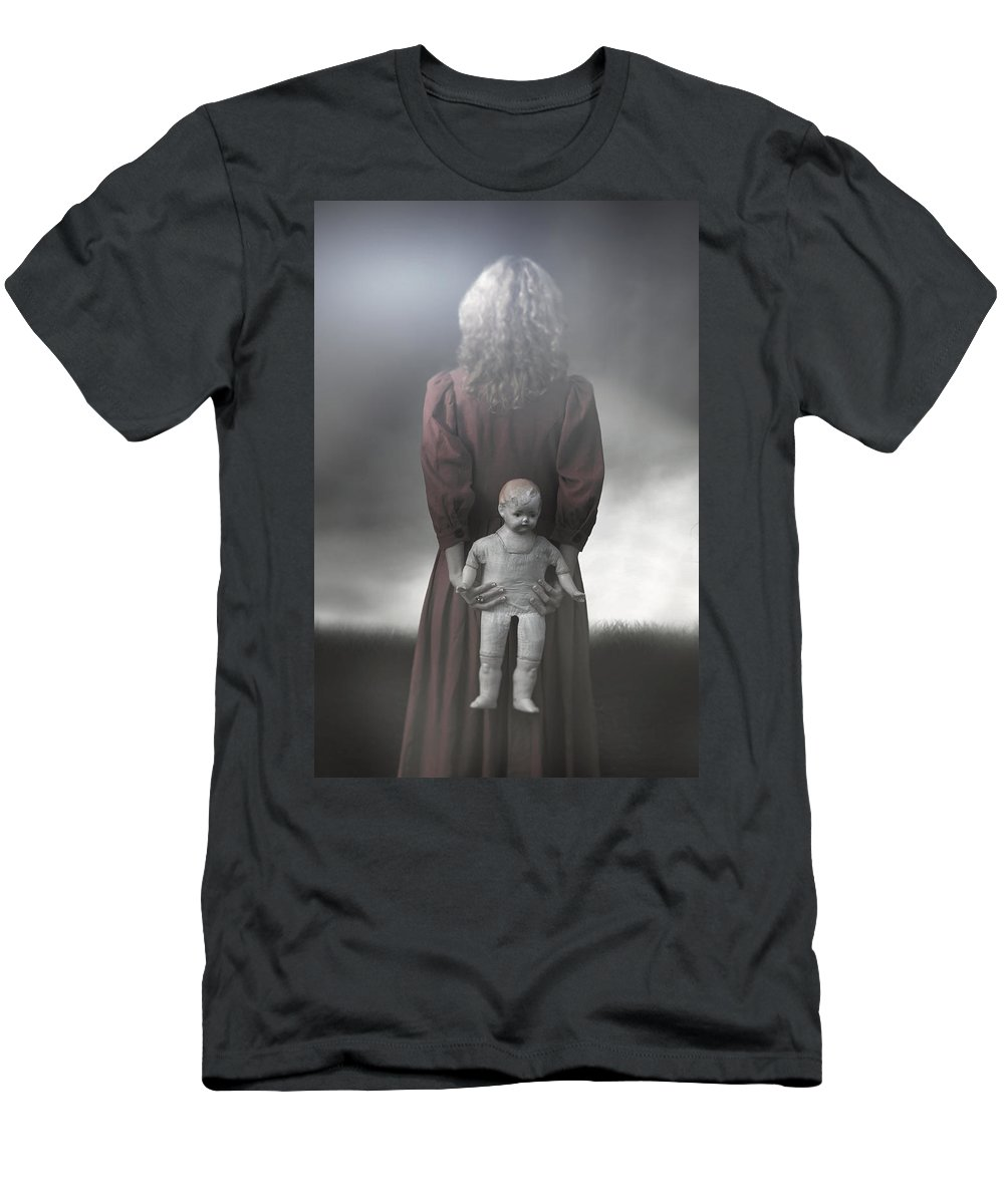 Woman Men's T-Shirt (Athletic Fit) featuring the photograph Old Doll by Joana Kruse