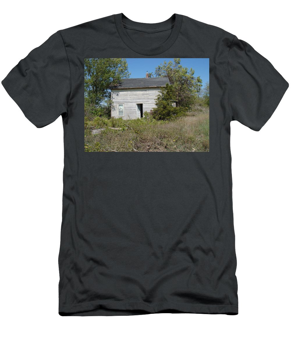 Abandoned Men's T-Shirt (Athletic Fit) featuring the photograph Abandoned by Bonfire Photography