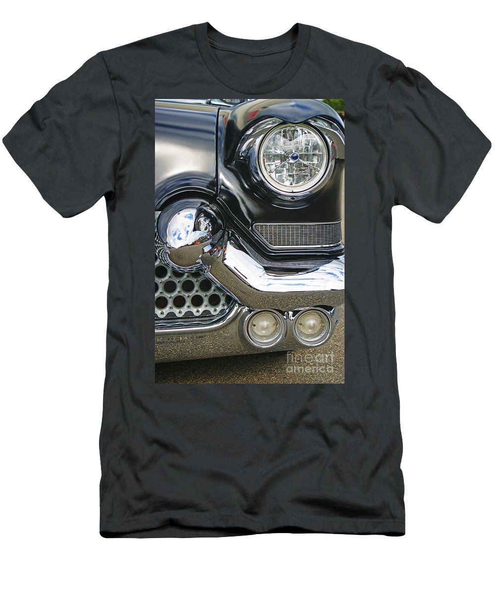 Custom Cars Men's T-Shirt (Athletic Fit) featuring the photograph Abstract Front End by Randy Harris