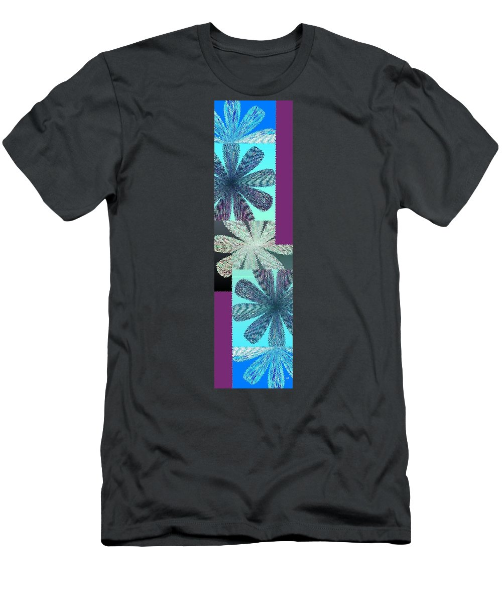 Abstract Fusion Men's T-Shirt (Athletic Fit) featuring the digital art Abstract Fusion 149 by Will Borden