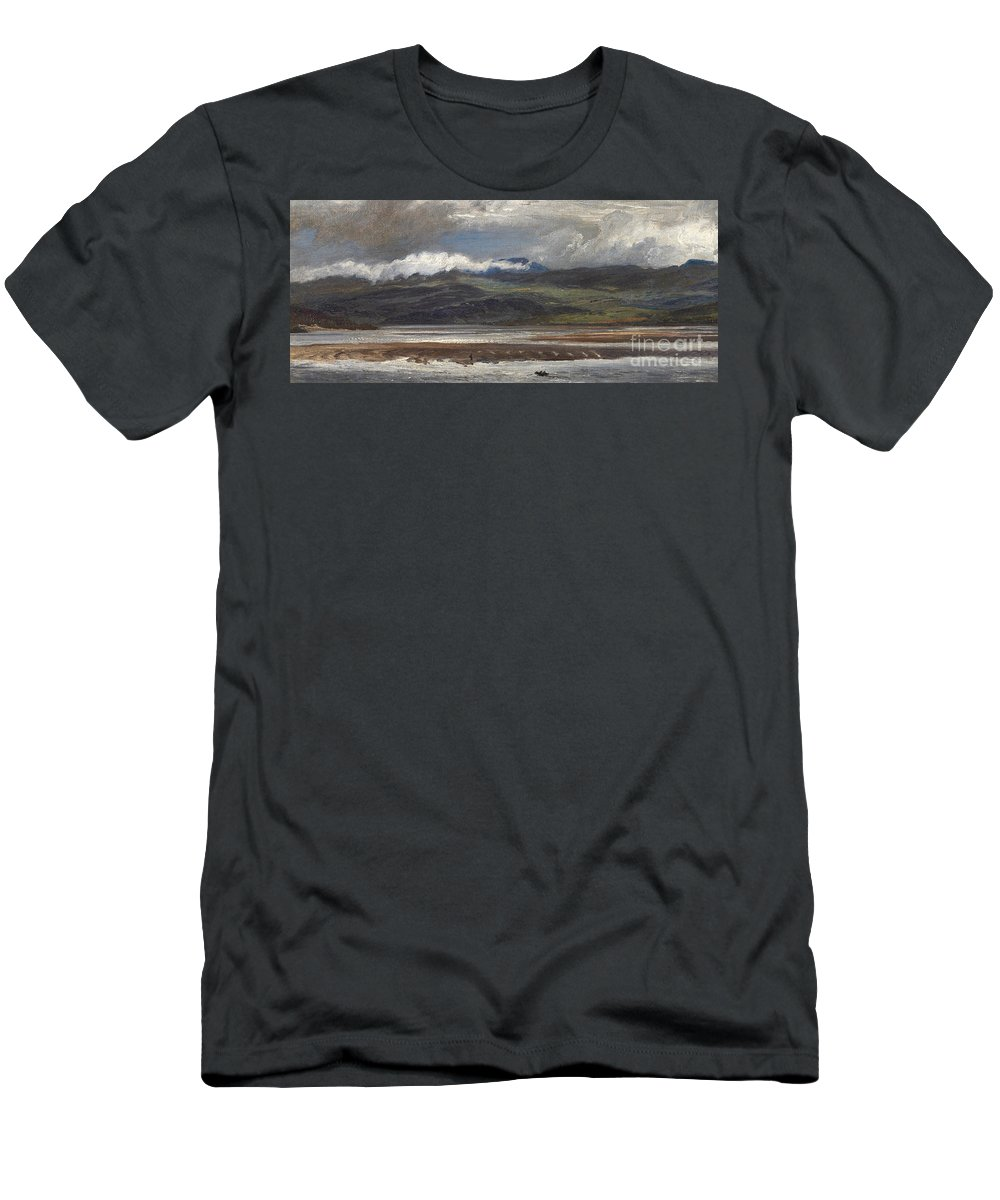 Seascape T-Shirt featuring the painting After Rain by Henry Moore
