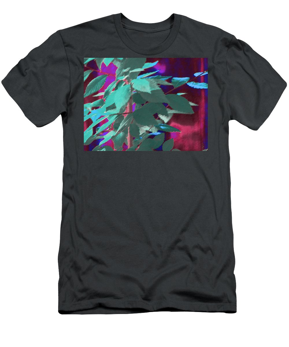 Abstract Men's T-Shirt (Athletic Fit) featuring the photograph Another Elm by Lenore Senior