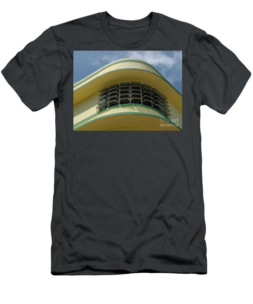 Art Deco Men's T-Shirt (Athletic Fit) featuring the photograph Art Deco Detail by Vivian Christopher
