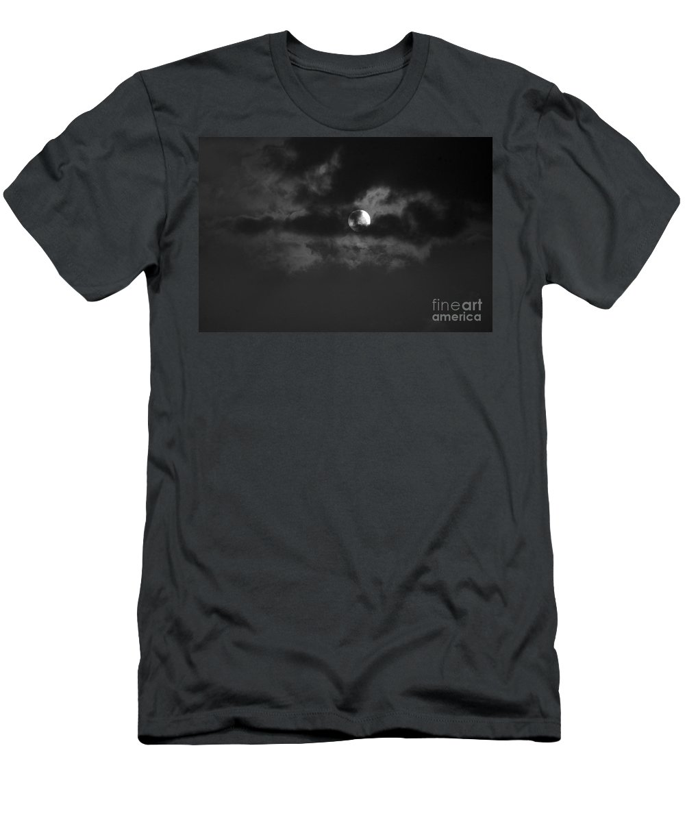 Sunset Men's T-Shirt (Athletic Fit) featuring the photograph August 6 2007 by Mark Gilman