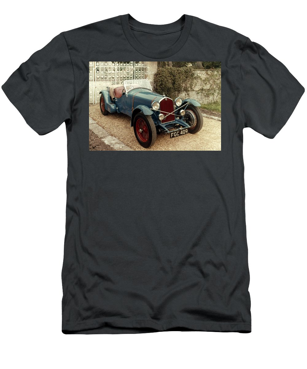 1933 Men's T-Shirt (Athletic Fit) featuring the photograph Auto: Alfa-romeo, 1933 by Granger