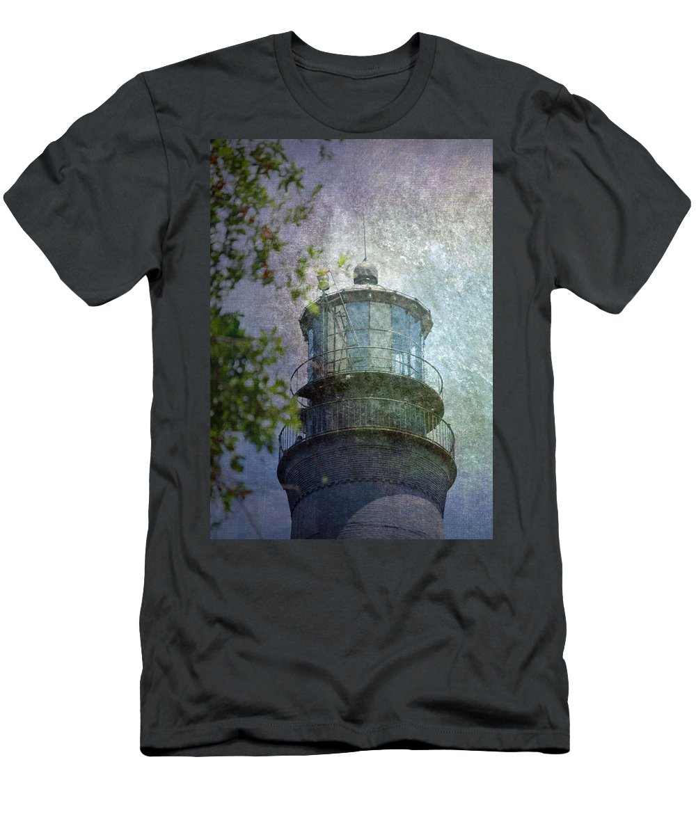 Beacon Men's T-Shirt (Athletic Fit) featuring the photograph Beacon Of Hope by Judy Hall-Folde