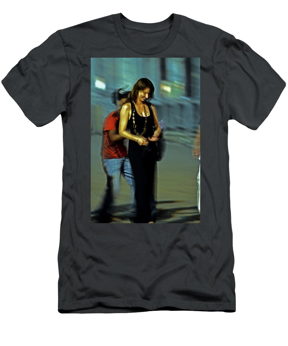 Woman Men's T-Shirt (Athletic Fit) featuring the photograph Bella by La Dolce Vita