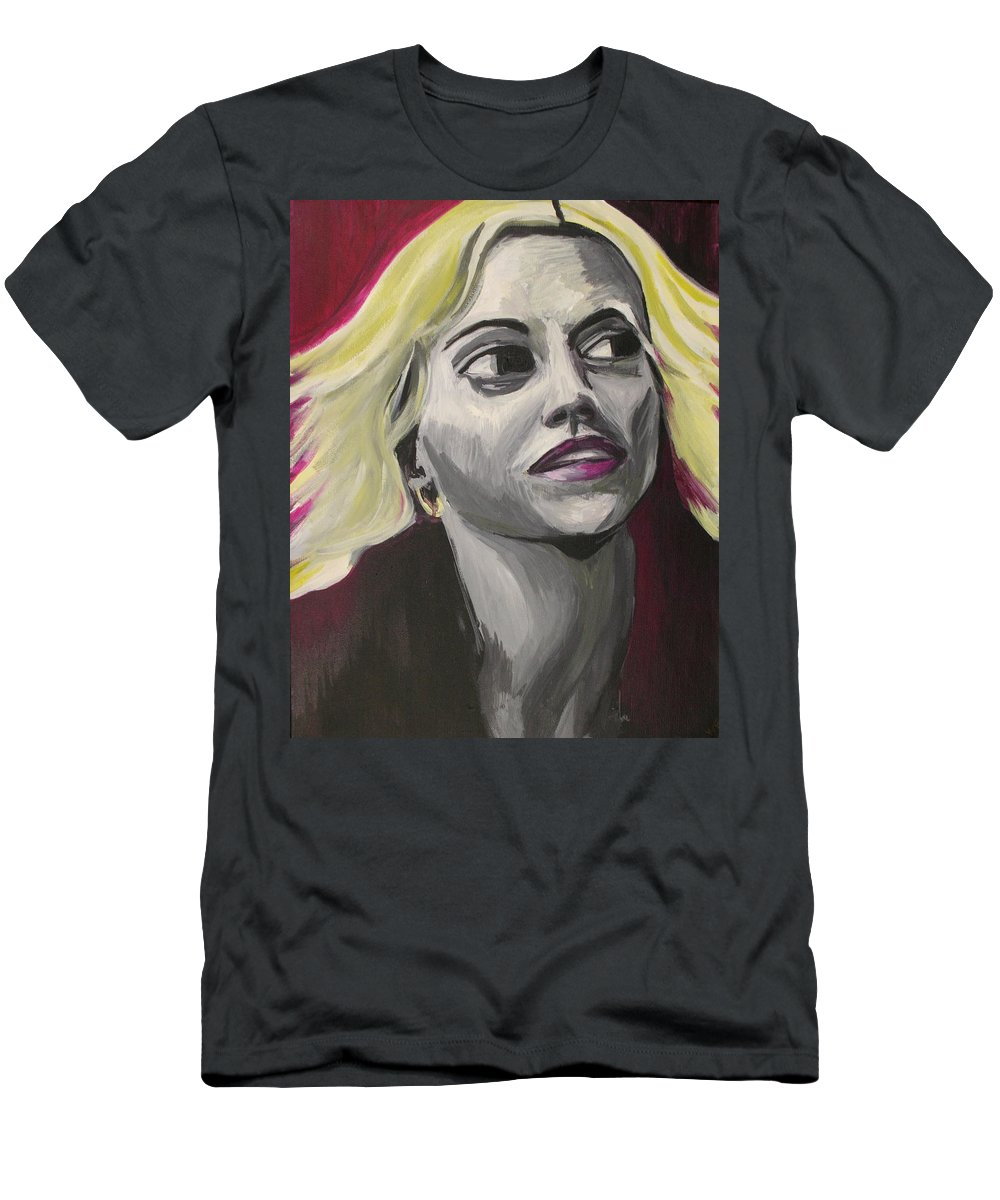 T-Shirt featuring the painting Brittany Murphy by Kate Fortin