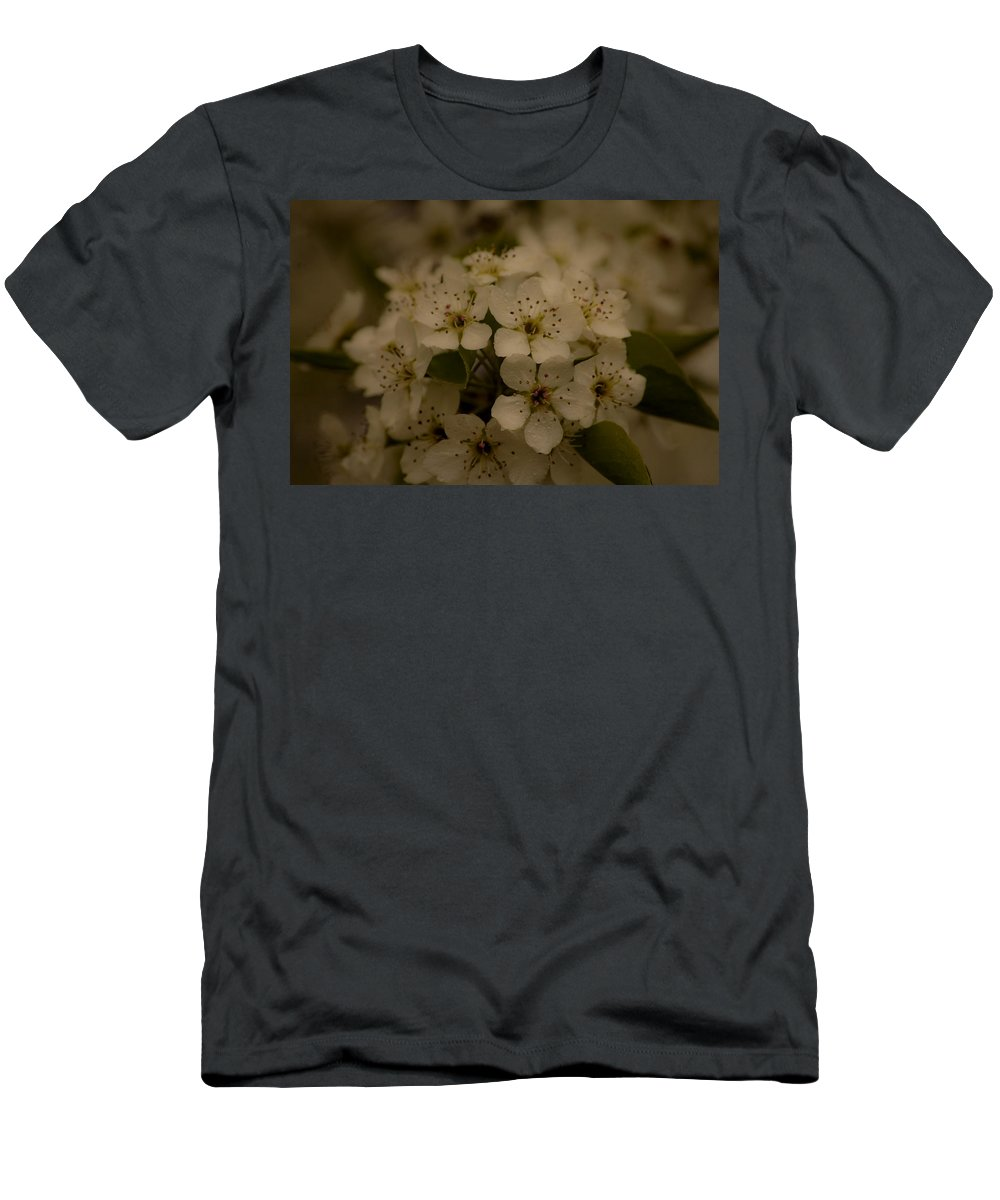 Flowers Men's T-Shirt (Athletic Fit) featuring the photograph Bushel Of Flowers by Christofer Johnson