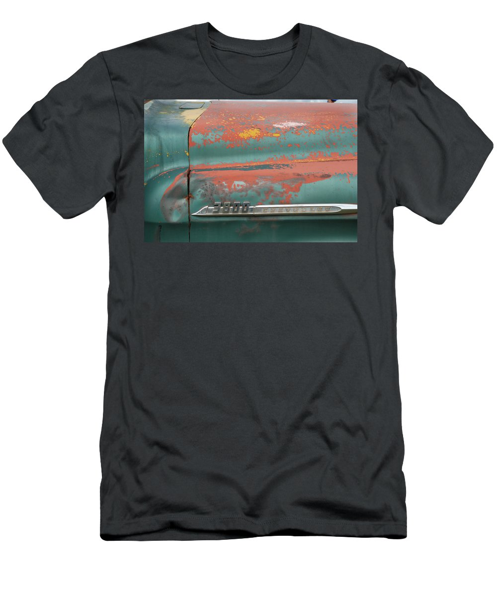 Chevrolet Men's T-Shirt (Athletic Fit) featuring the photograph Chevrolet by Ron Weathers