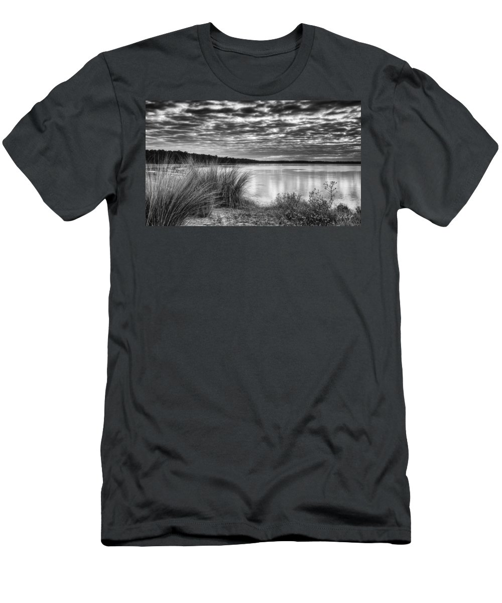 Beaufort County Men's T-Shirt (Athletic Fit) featuring the photograph Clouds In The Lowcountry by Phill Doherty
