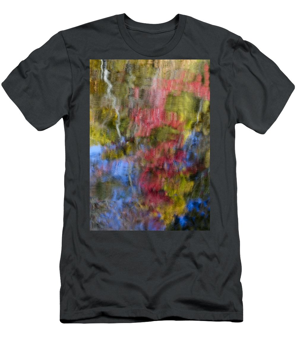 Abstract Men's T-Shirt (Athletic Fit) featuring the photograph Color Palette by Susan Candelario