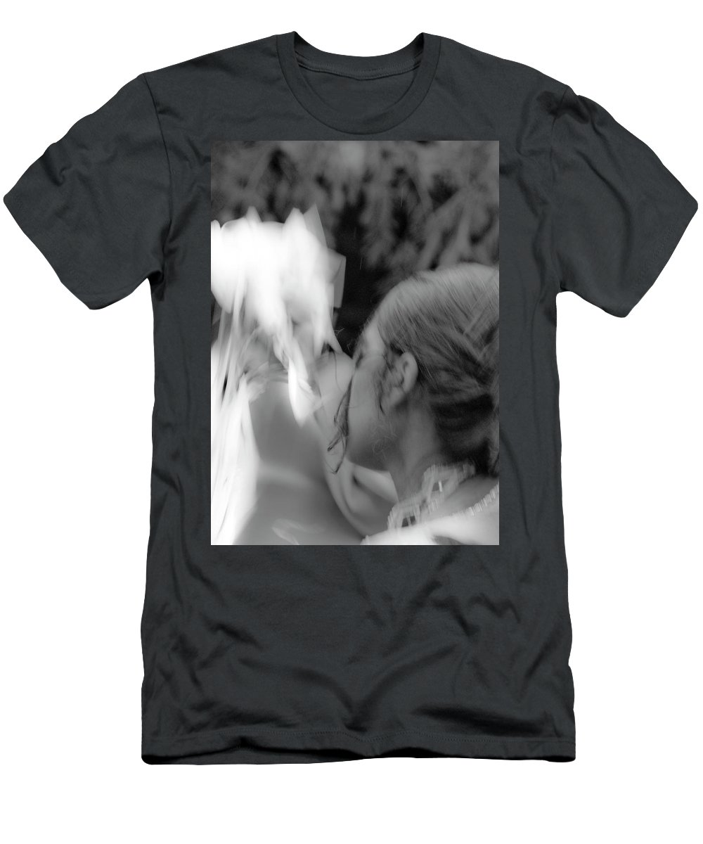 Photography Men's T-Shirt (Athletic Fit) featuring the photograph Dancing For The Ancestors by Steven Natanson