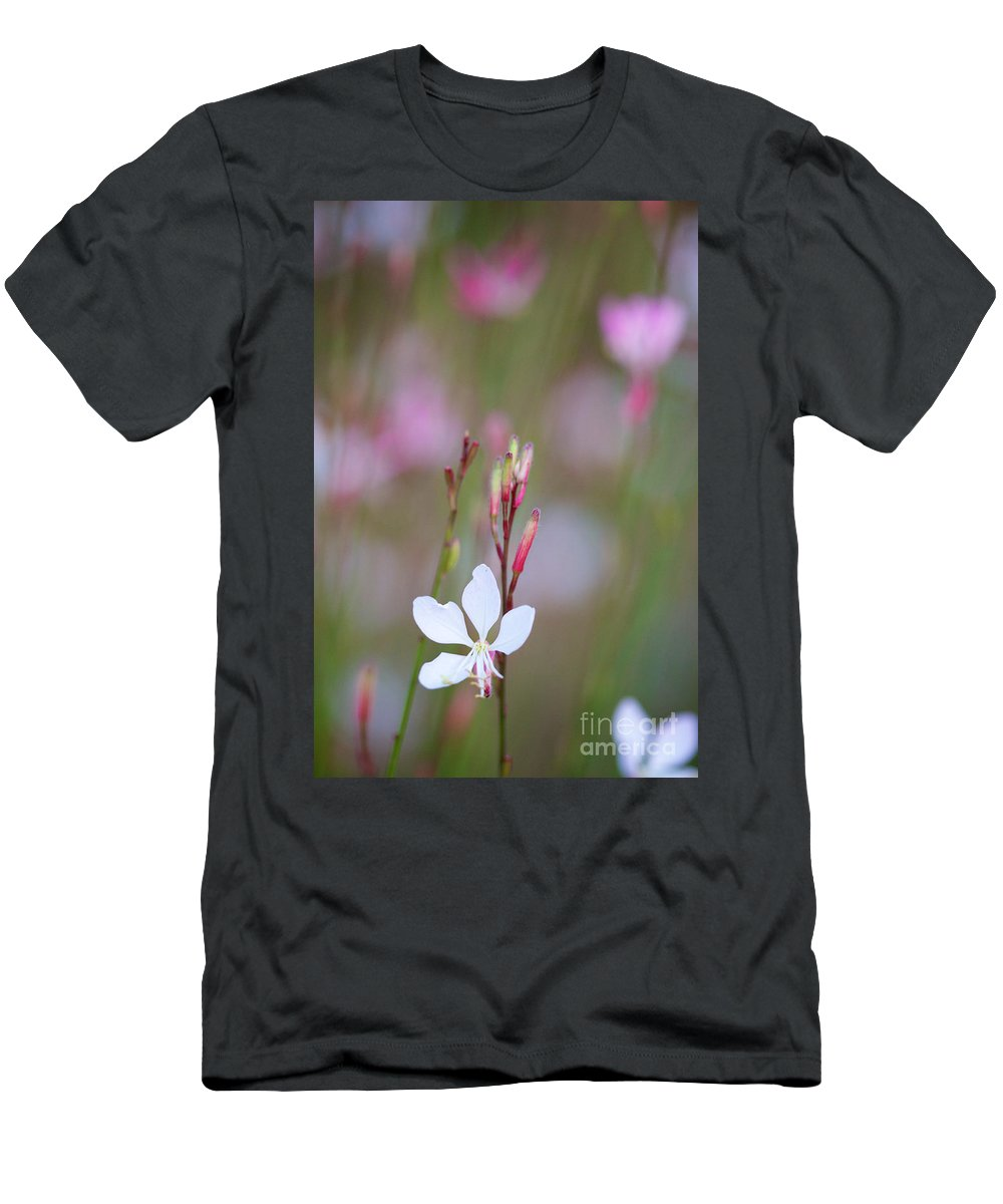 Whirling Butterflies Men's T-Shirt (Athletic Fit) featuring the photograph Dancing Whirling Butterflies by Brooke Roby