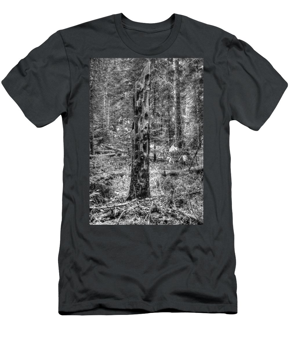 Dead Men's T-Shirt (Athletic Fit) featuring the photograph Dead Snag by One Rude Dawg Orcutt