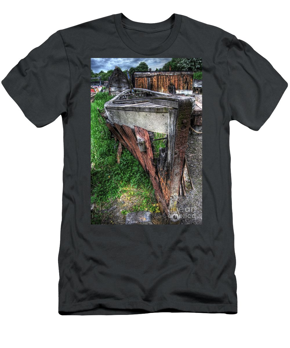 Art Men's T-Shirt (Athletic Fit) featuring the photograph Dehydrated by Yhun Suarez