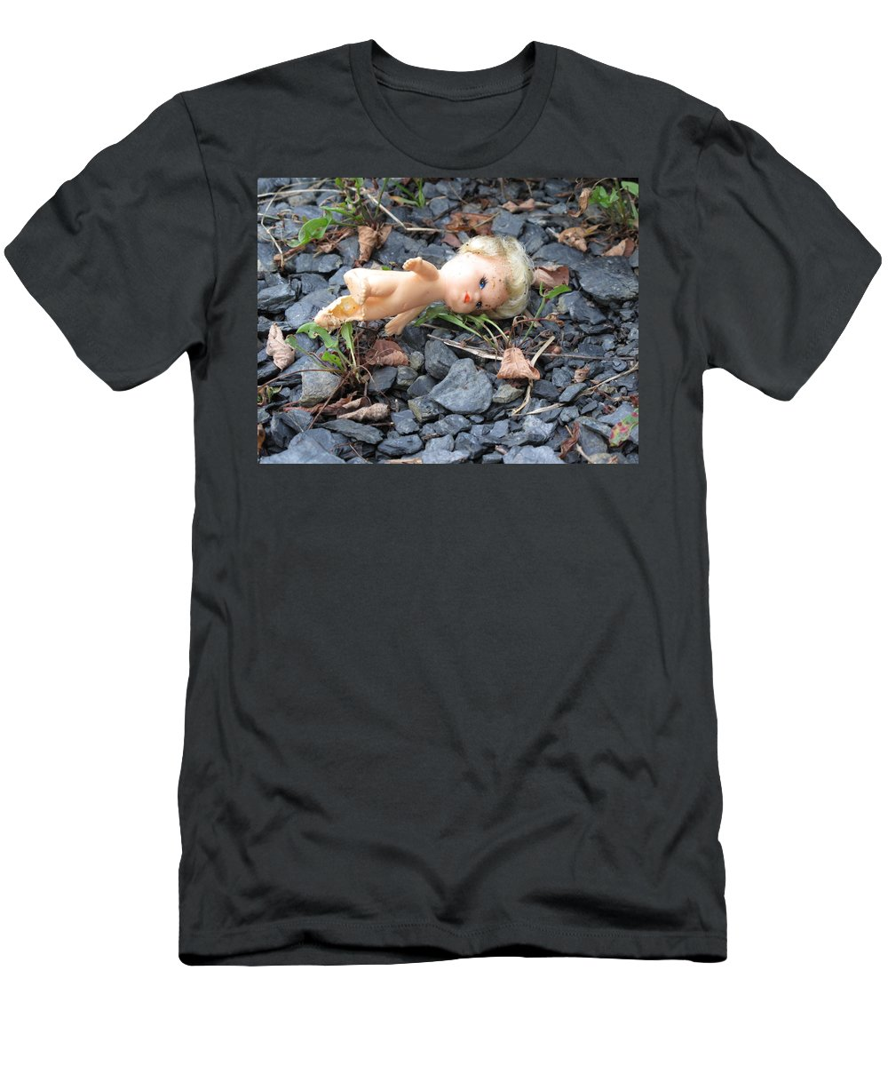 Doll Men's T-Shirt (Athletic Fit) featuring the photograph Dolly by Michele Nelson