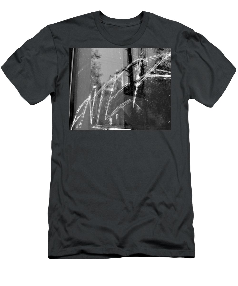Elm Men's T-Shirt (Athletic Fit) featuring the photograph Enter by The Artist Project