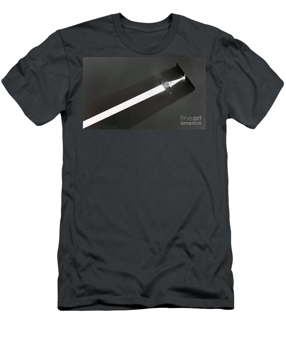 Lens Men's T-Shirt (Athletic Fit) featuring the photograph Focal Length by Berenice Abbott