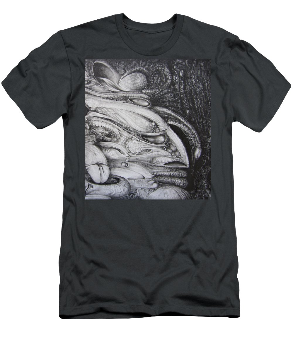 Fomorii T-Shirt featuring the drawing Fomorii General by Otto Rapp