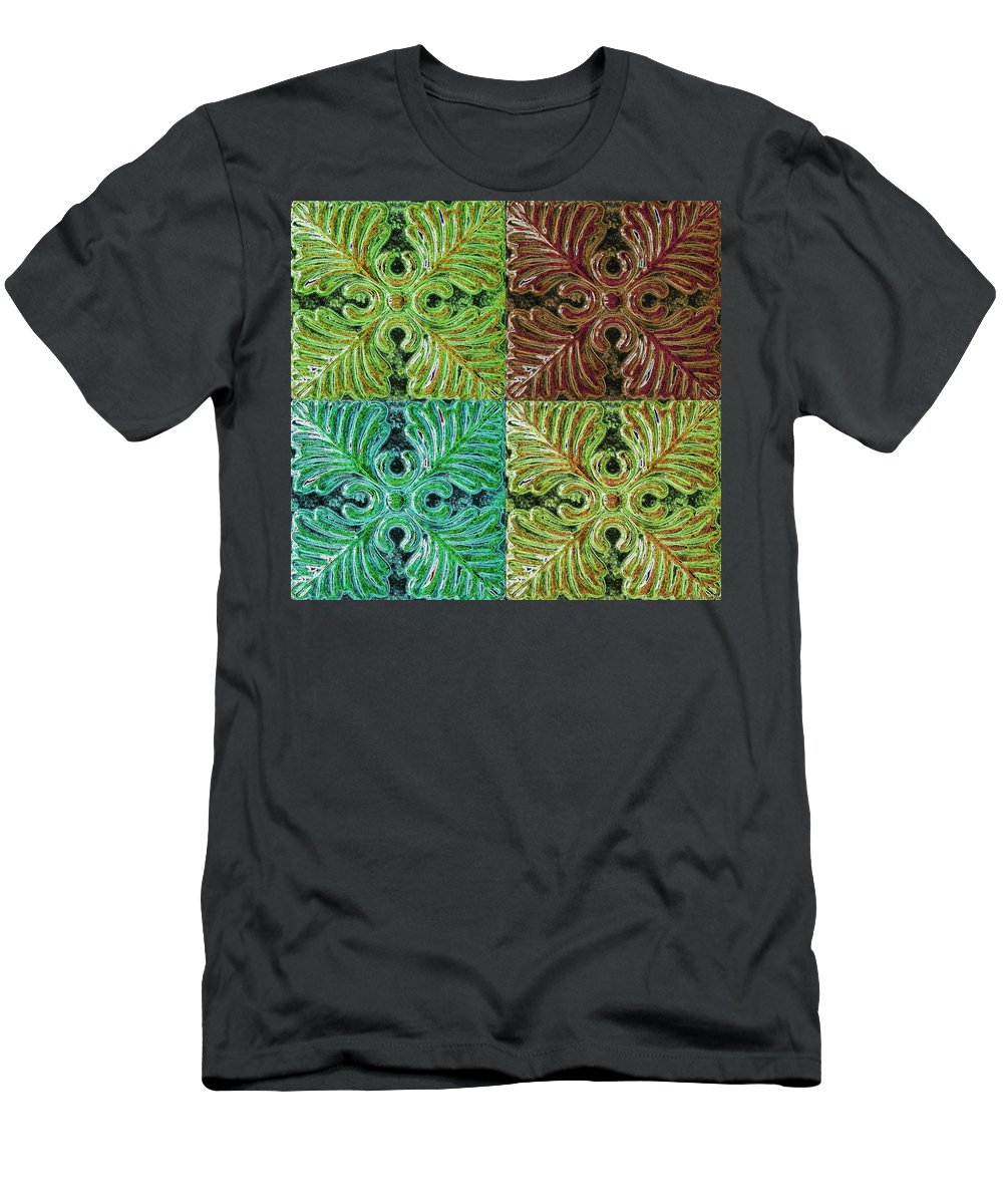 Men's T-Shirt (Athletic Fit) featuring the photograph Four Times Four I by Debbie Portwood